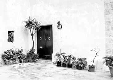 HOUSES, Monochrome, Mdina, Malta