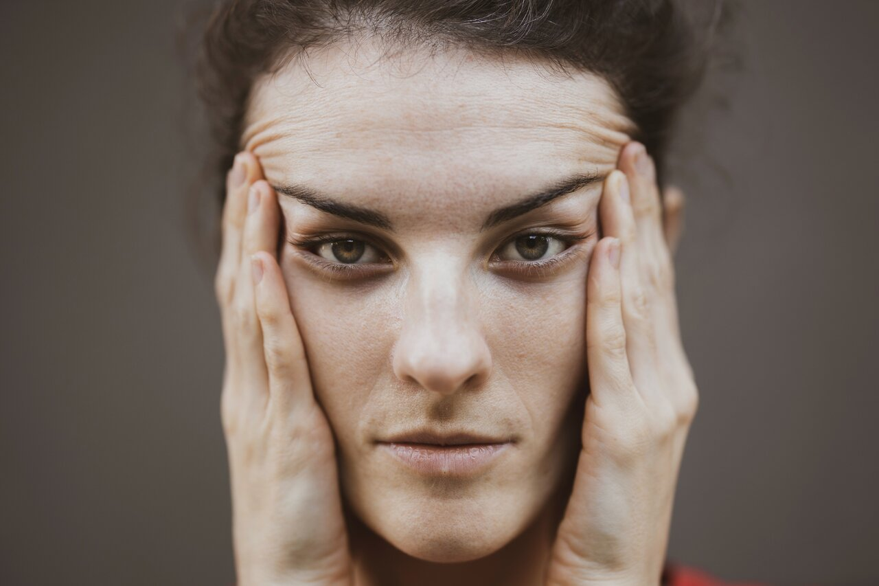 woman upset at repeated behaviour