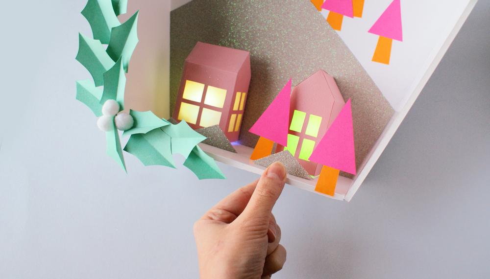 DIY Nol Une Dcoration En Papier Acidul