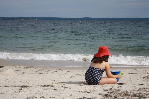 Cleveland Beach, Nova Scotia. Photo by Helen Earley