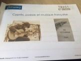 Cyprès poésie et musique