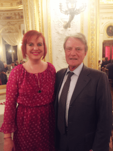 Avec Bernard Kouchner