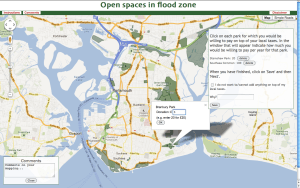 Step 5 – Open spaces in Flood zone
