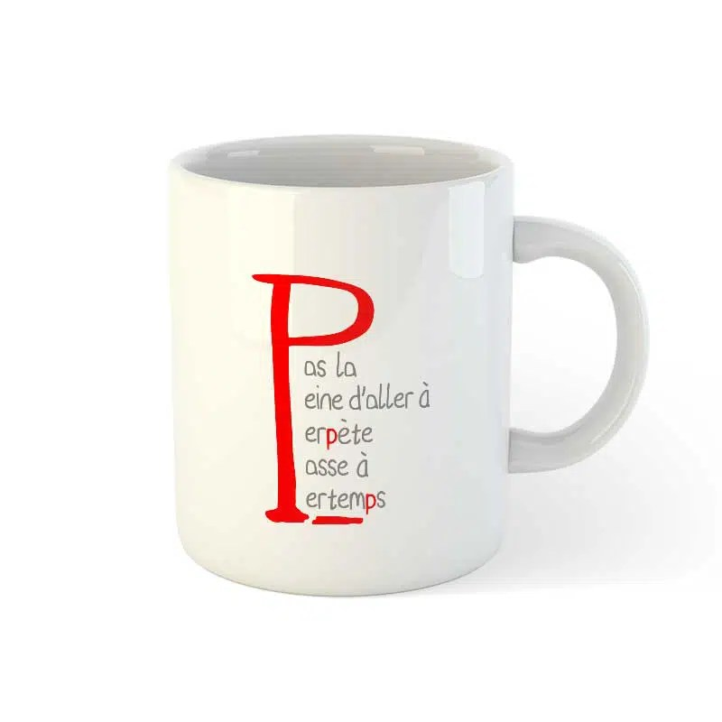 mug personnalise avec photo ou logo