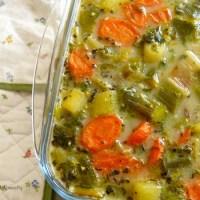 Millet aux légumes - végétalien