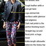 Edgy Meets Feminine: Jessica Alba In Head-to-toe Tory Burch