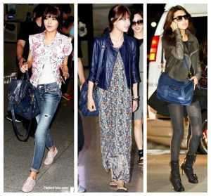 One bag, Three Outfits: Korean Star Choi Soo Young and Her Proenza Schouler PS1