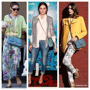 Lesson 3: One bag takes you from fall to summer (Style Lessons from Olivia Palermo)