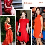 Dynamic Red: Four Different Styles of LRD (Little Red Dress)