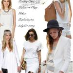 Summer Whites: Tomboy, Bohemian, Chic or Ladylike
