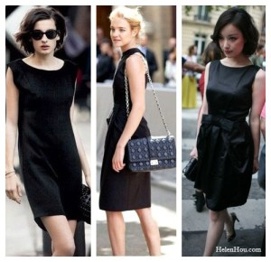 The Charm of A Little Black Dress