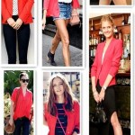 Red Glamour At The Top: From Blazers To Shirts