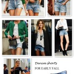 Fashion Week Street Style: Denim Shorts