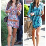 Bohemian Chic: Printed Dress & Ankle Boots