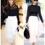 High-Low Mix: Cropped Sweater & Tulle Skirt