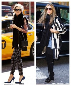 Winter Chic: Checks and Stripes