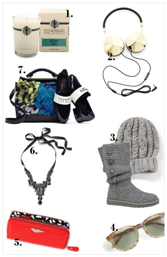 The art of accessorizing-helenhou.com-holiday gift ideas 2013-3.1 Phillip Lim-uggs-dvf-beanies-tech-menswear shoe-candals