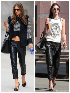 Wear It Now and Later: Leather Pants