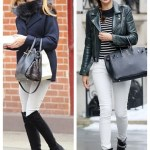 Transitional Dressing: White Jeans