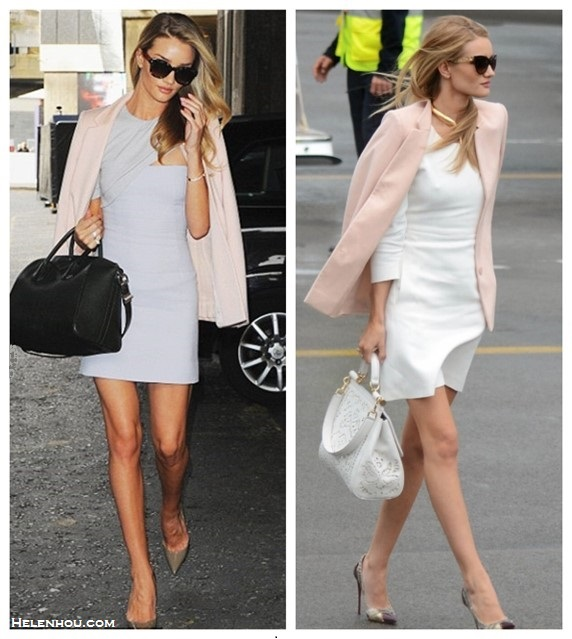 Rosie Huntington-Whiteley style 2014; Models off Duty looks;