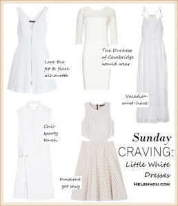 Sunday Craving: Little White Dresses