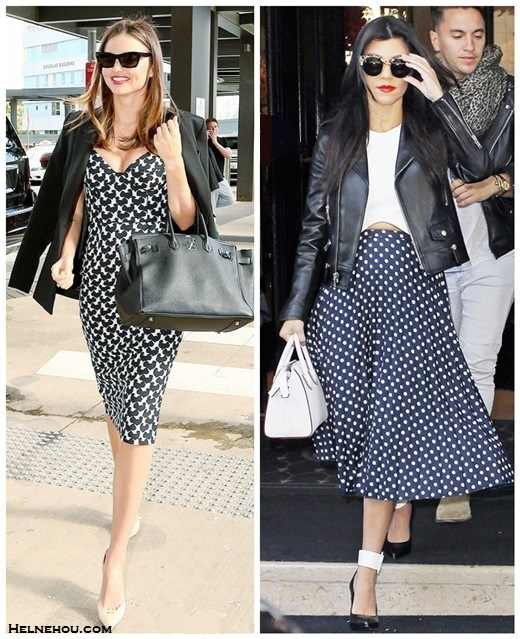 Kourtney Kardashian fashion week street style 2014,   Miranda Kerr airport style 2014,
