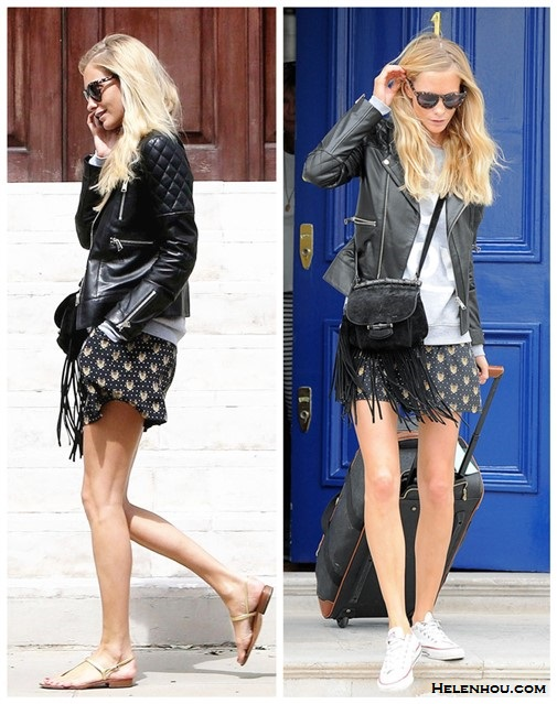 Celebrities airport and street style 2014; How to wear the western trend for summer 2014