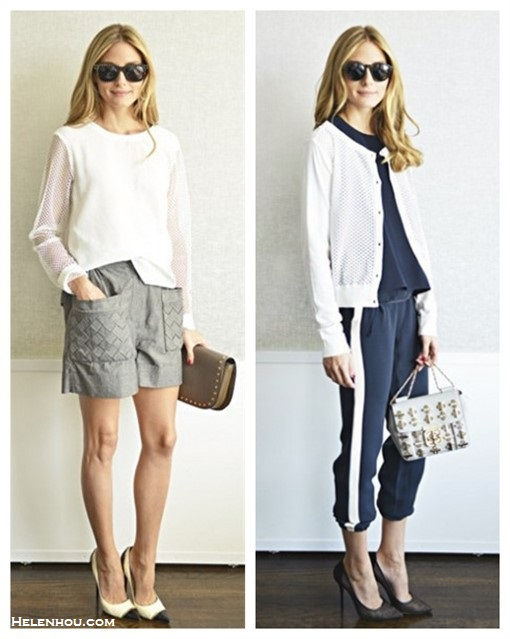 Olivia Palermo style 2014, how to wear the sports trend.