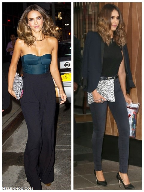 how to wear a bustier/corset top; celebrity street style, fall/winter outfit ideas 2014; what to wear for date nights,