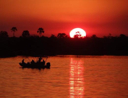 Zambezi River Sunset Cruise Livingstone Zambia www.heleninwonderlust.co.uk