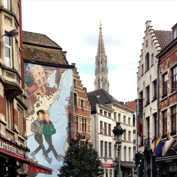 Belgian Street Scene