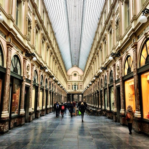 Galeries Royales St Hubert Interior