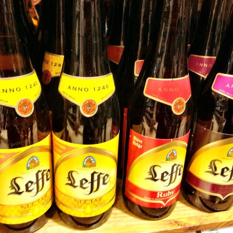 Leffe Belgian Beer Brussels