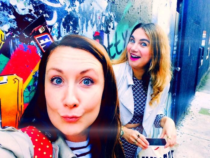 Helen & Brenna in Shoreditch