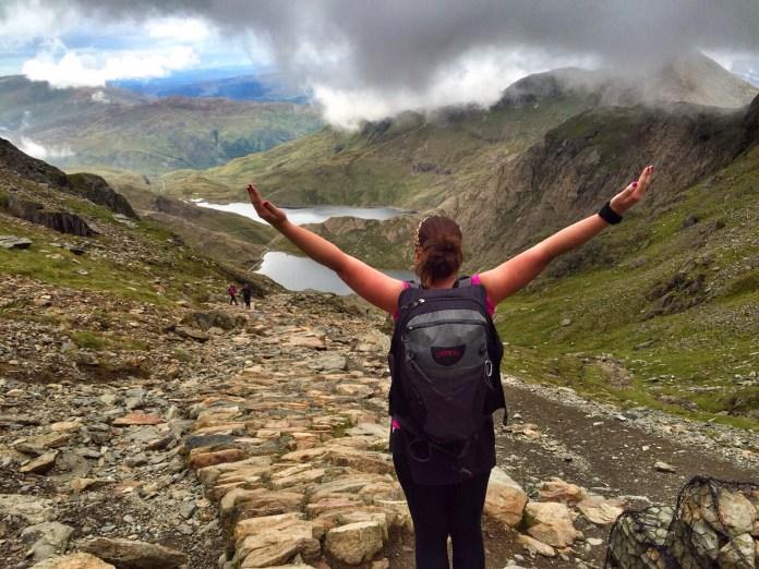 Helen in Snowdonia National Park