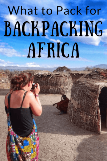 What to Pack for Backpacking Africa