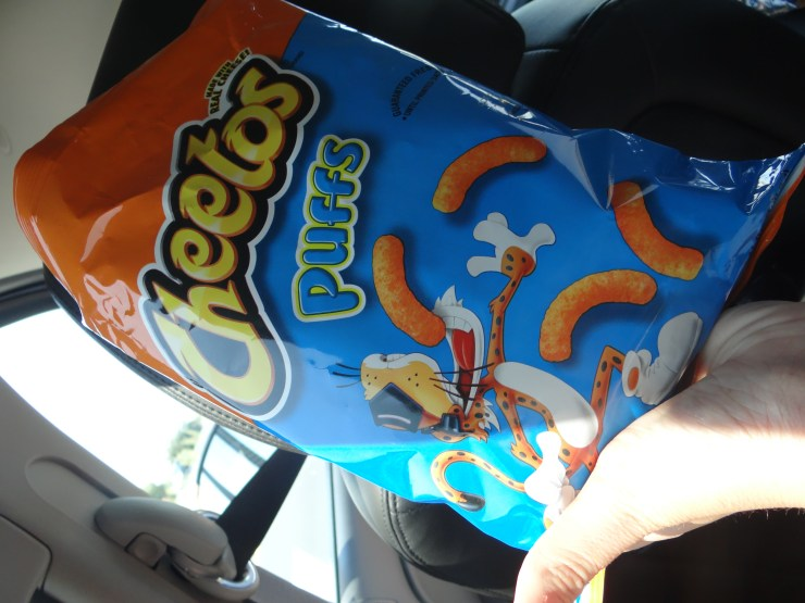 Cheetos Puffs - The Best Road Trip Snacks