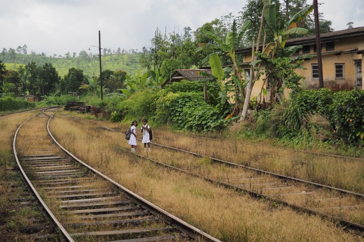 Sri Lanka Train Tracks