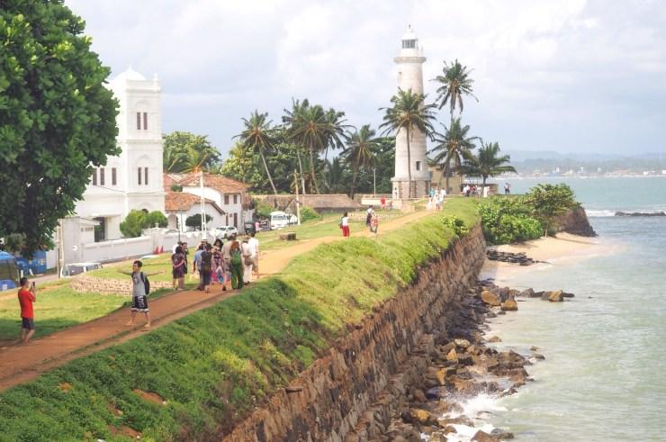 View of Galle Fort, Sri Lanka