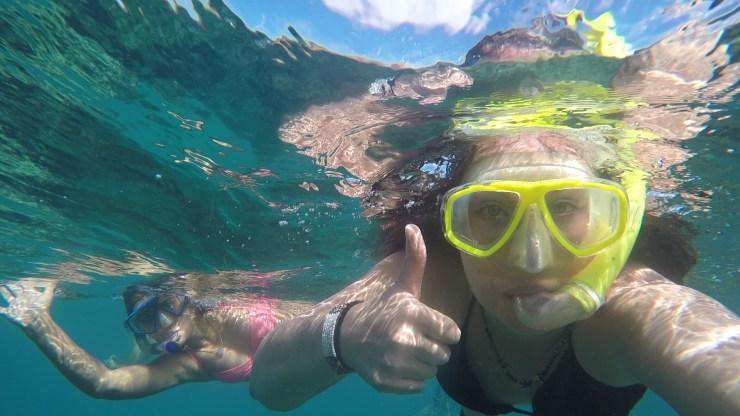 Snorkelling in Kilifi