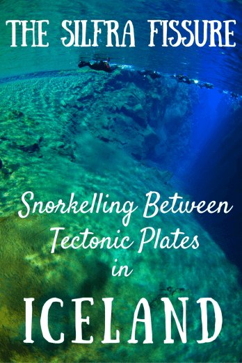Snorkelling between tectonic plates in Iceland