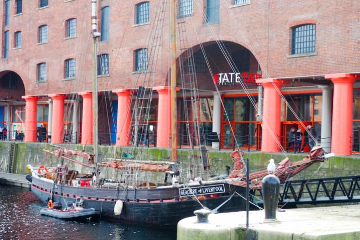 The Albert Dock Liverpool