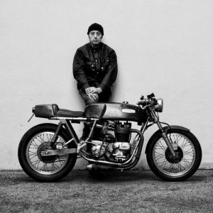 Robert Goldstein Photography - image of the photographer with his motorcycle