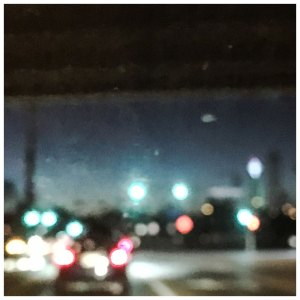 'Dallas Freeway Lights #2' © Helen Jones-Florio