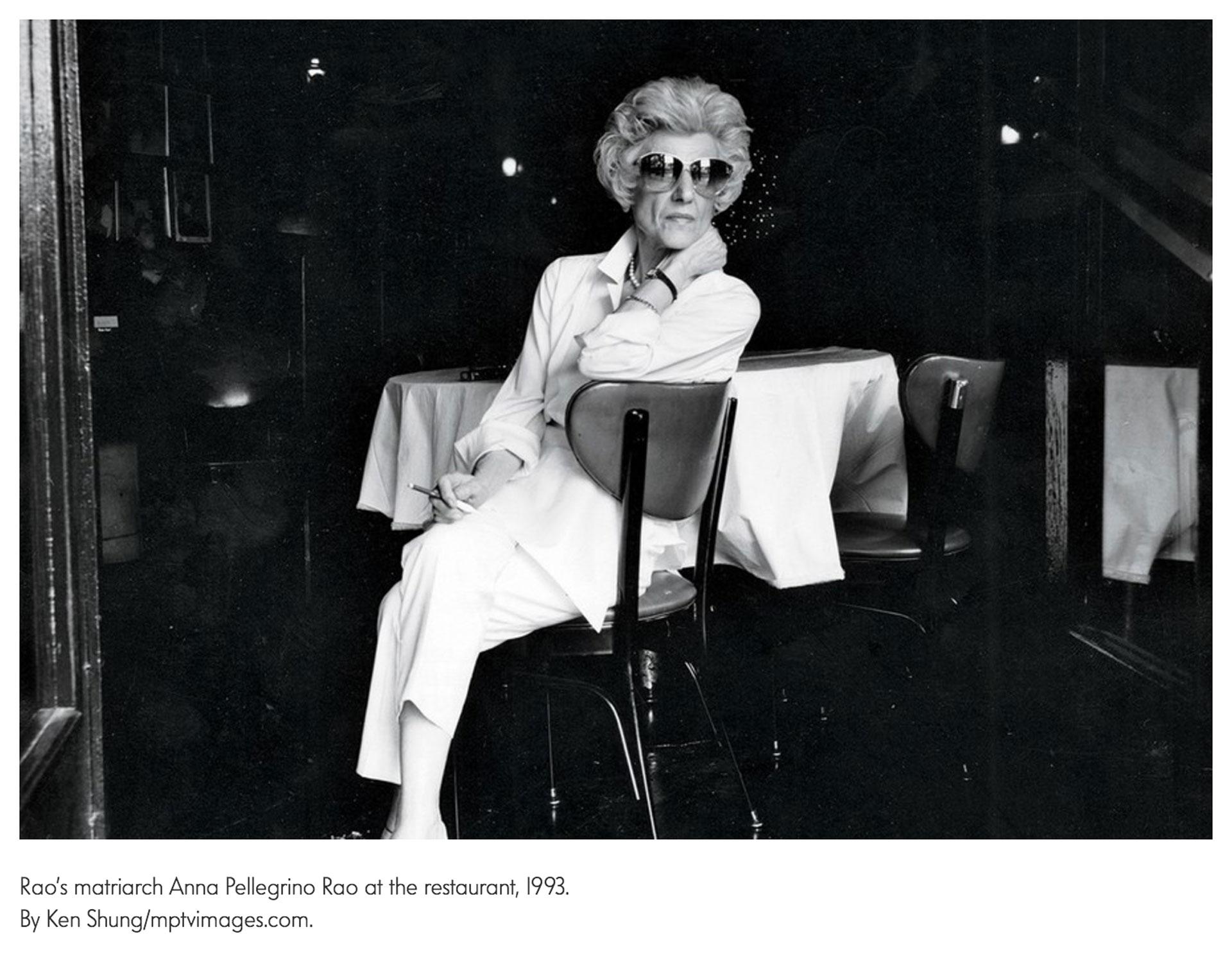 Ken Shung - Vanity Fair - portrait of restaurant owner Anna Pellegrino Rao