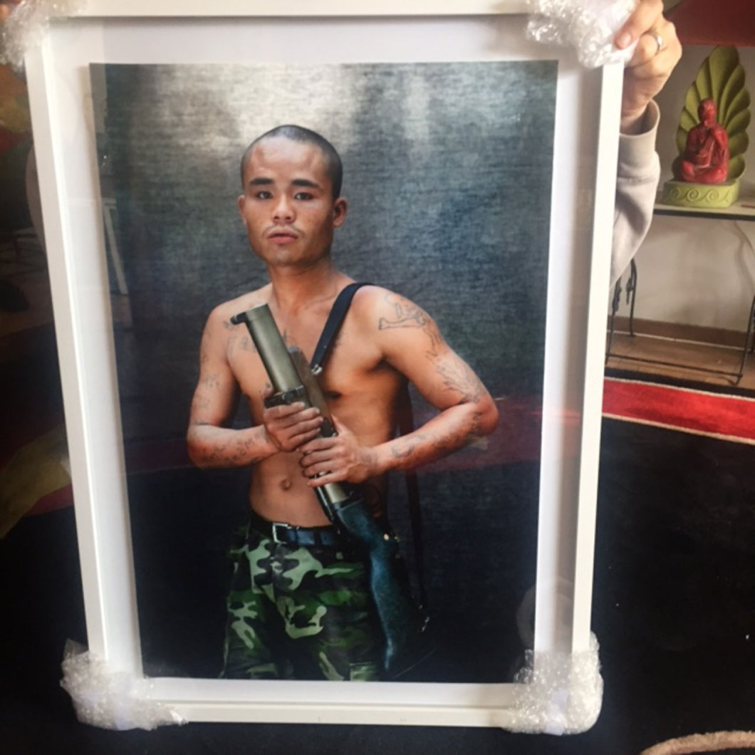 Framed Print: 'The Long Fight for Kawtoolie: Portraits from the Jungles of Burma' © Jason Florio