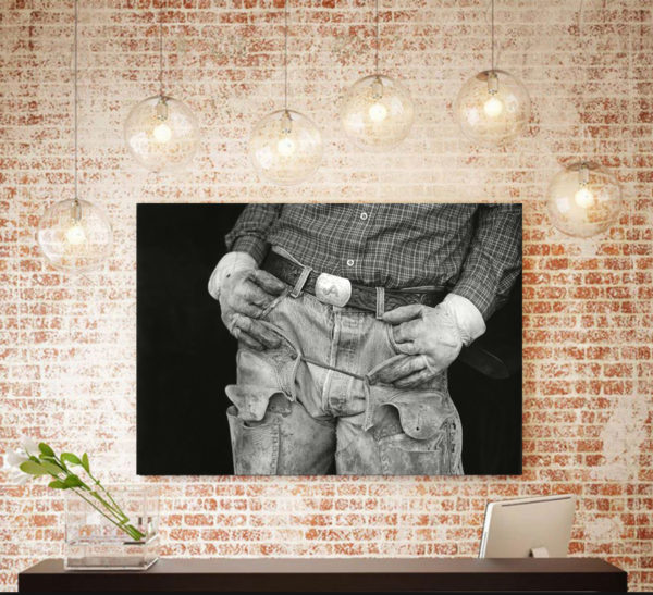Gifts: 'Texas Cowboy #2' Chris Bartlett fine art photography prints