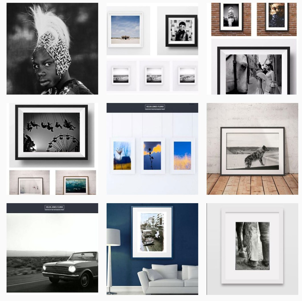 Gift Cards for the lovers of photography - beautiful prints