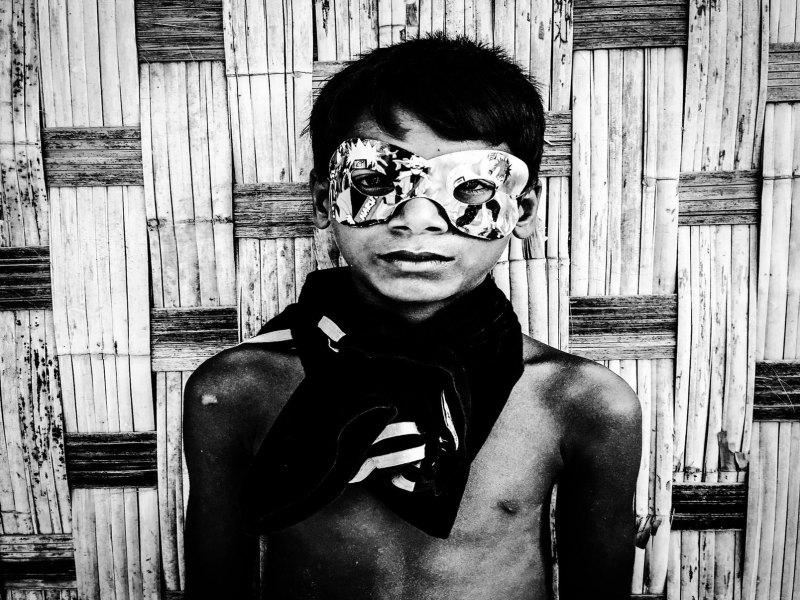 Mask Boy, Burma © Jason Florio