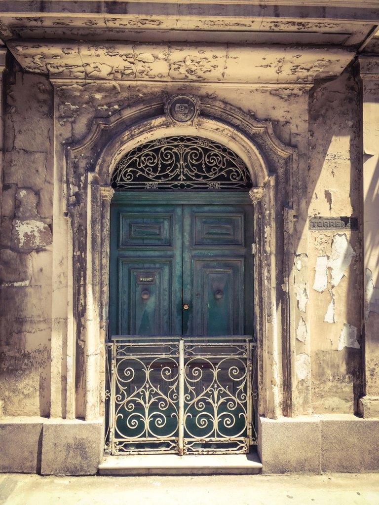 disappearingMalta - Vintage doors and gate, Bormla, Malta ©Helen Jones-Florio photography prints
